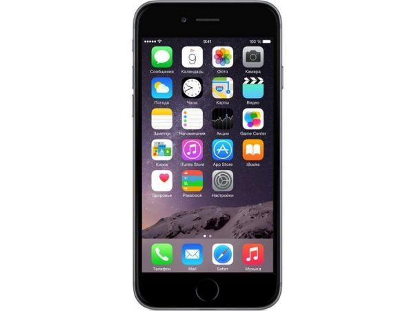 iPhone 6 Plus 16Gb Space Gray Как новый RU/A