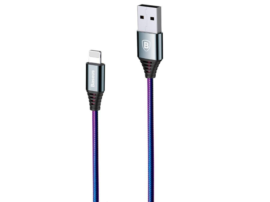 Кабель Lighting USB Baseus Discolor Cable 2A 1M
