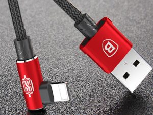 Кабель Lighting Baseus MVP Elbow Type Cable USB 2A 1M