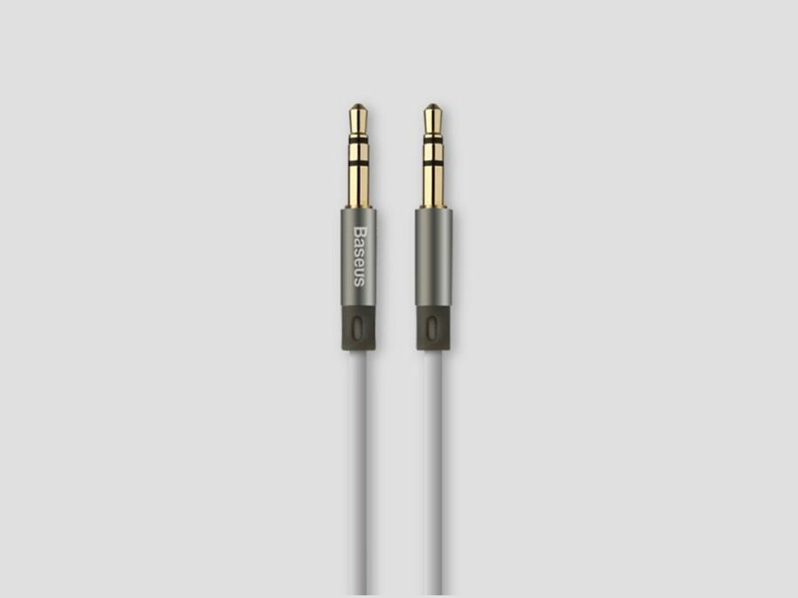 Аудио-кабель Baseus Fluency Series AUX Audio Cable 1.2M (Серый)
