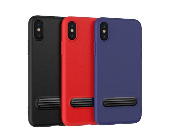 Чехол для iPhone X Baseus Happy Watching Supporting Case