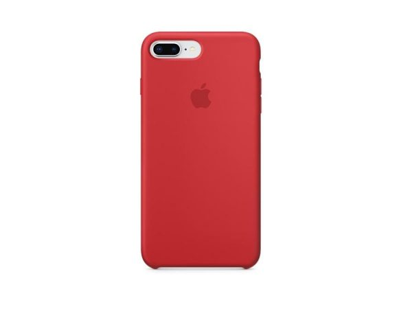 Чехол силиконовый Apple iPhone 7 Plus/8 Plus (PRODUCT) RED