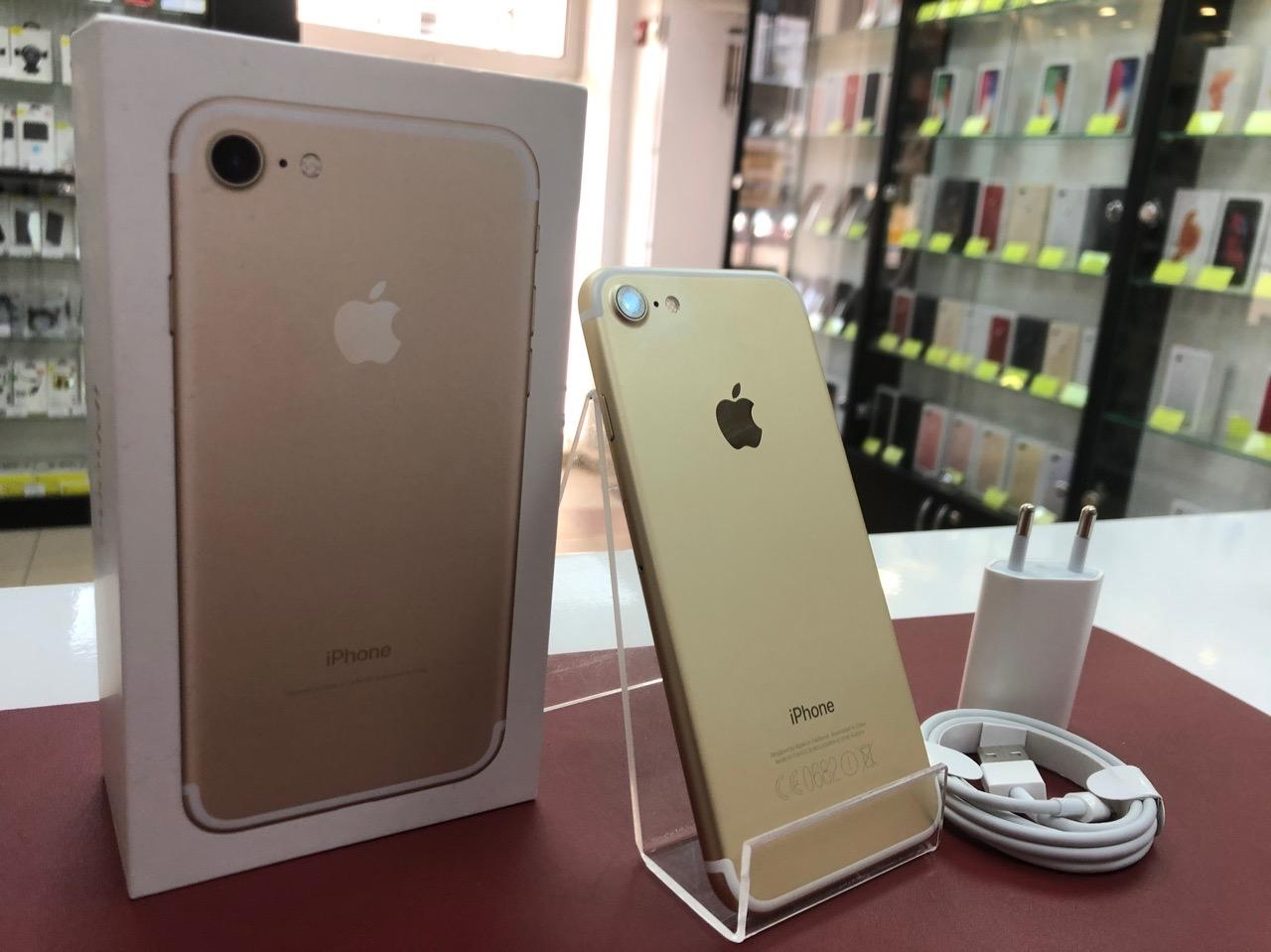 iPhone 7 32Gb Gold Б.У