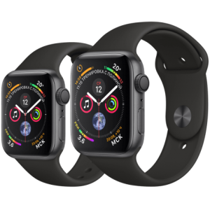 Apple Watch S4 44mm Space Gray