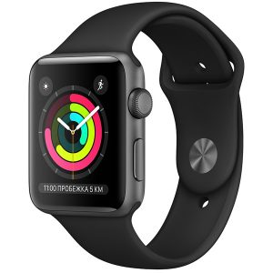 Apple Watch S3 42mm Space Gray (Уцененные)