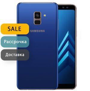 Samsung Galaxy A8 Plus 32gb Blue (Уцененный)