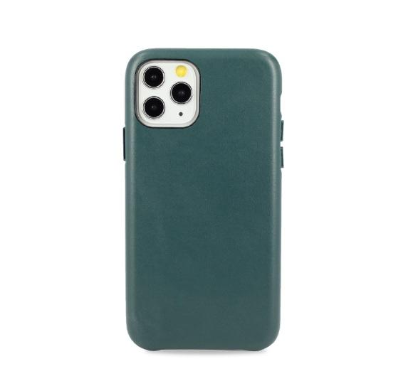 Чехол для iPhone 11 Santa Barbara Garret кожа (Green)